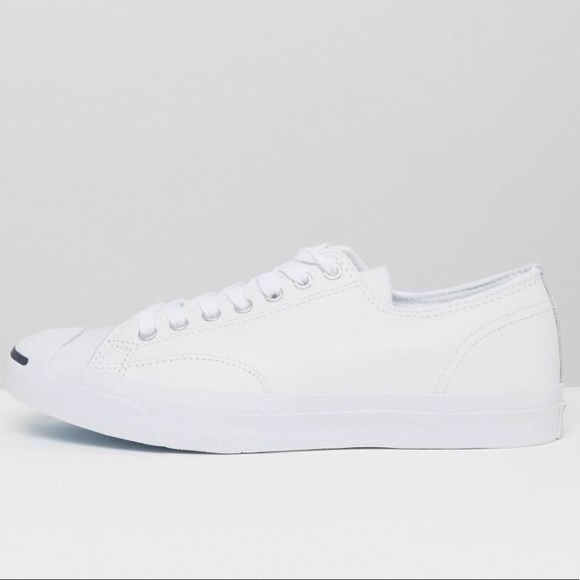 f22da71adb8f Converse Other - Converse Jack Purcell Tumbled Leather size 10.5